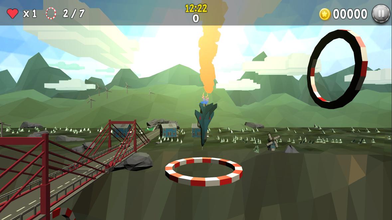 arcade airplane game loop da loop